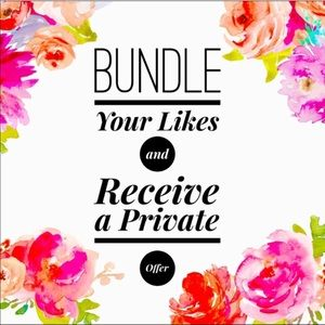 Other - Bundle your likes for a private offer 💰